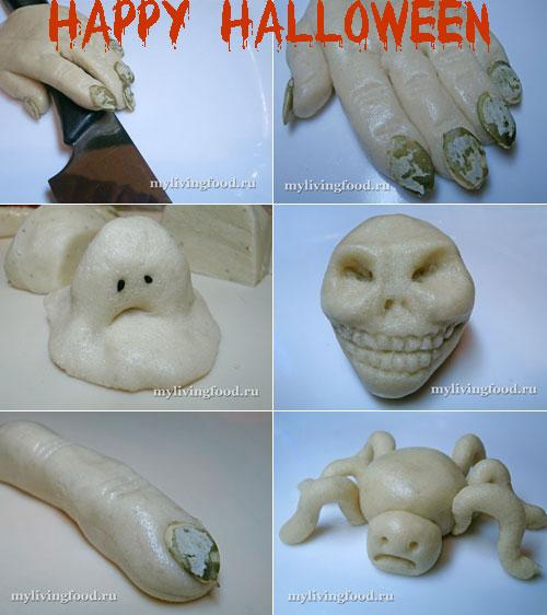 Марципановые сладости на Хэллоуин