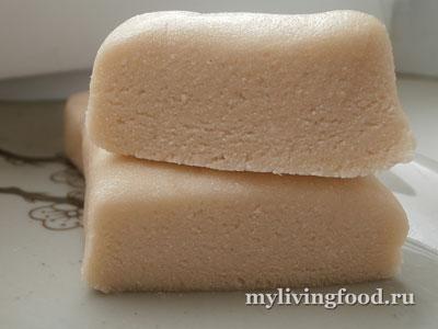 Марципан по-сыроедчески: рецепт с фото
