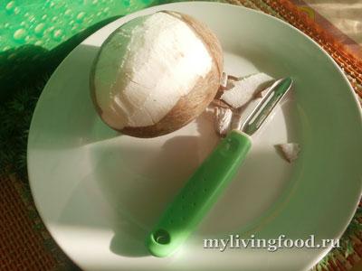 Как сделать домашнее кокосовое молоко, кокосовую стружку и кокосовое масло?