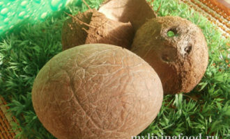 Как сделать кокосовое молоко, кокосовую стружку и кокосовое масло