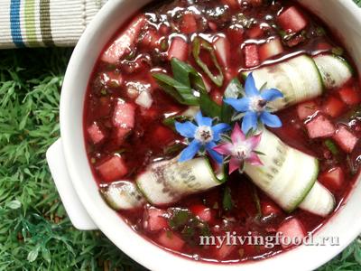 Холодный грузинский суп «Чриантели»