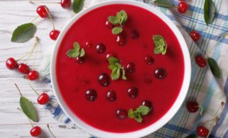 сыроедческий суп