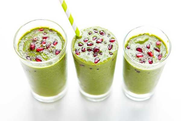 Зеленые рецепты смузи