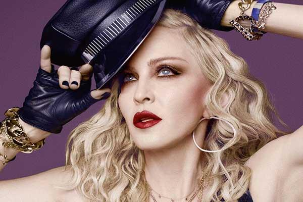 Мадонна веган