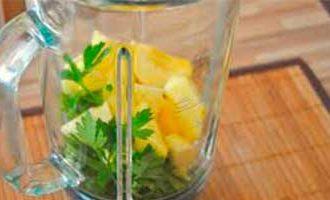 коктейль петрушка с лимоном