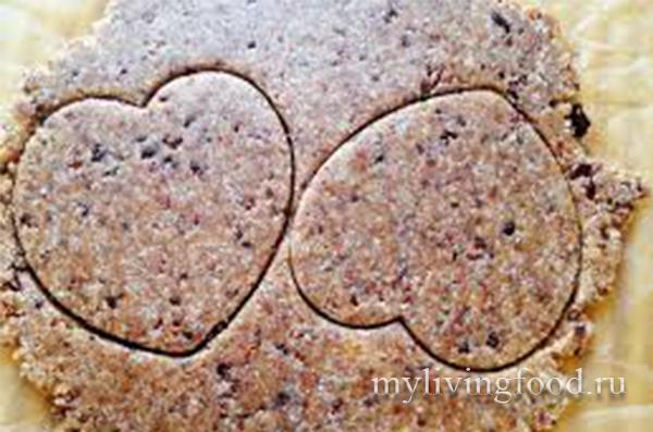 Сыроедческое пирожное
