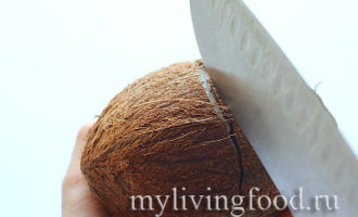 домашнее кокосовое молоко