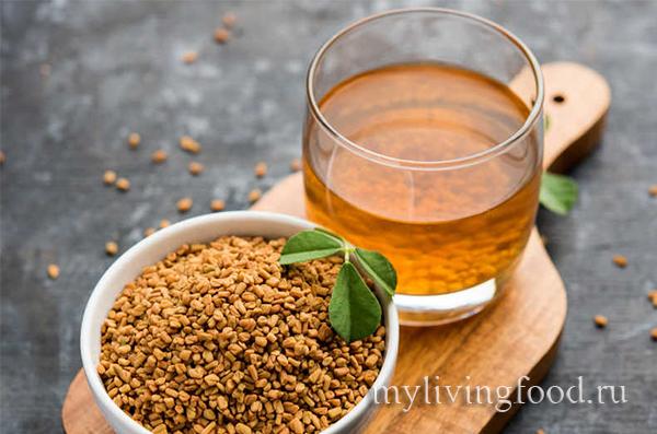 чай из семян пажитника