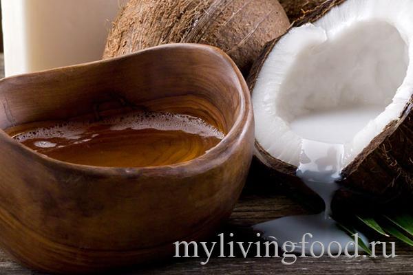 Кокосовое масло натуральная смазка