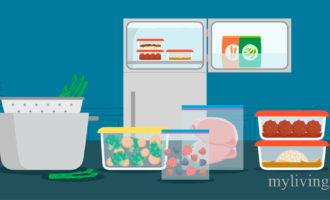 Срок хранения замороженных продуктов