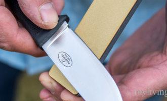 Правильный угол заточки ножей