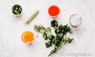Овощной рецепт смузи