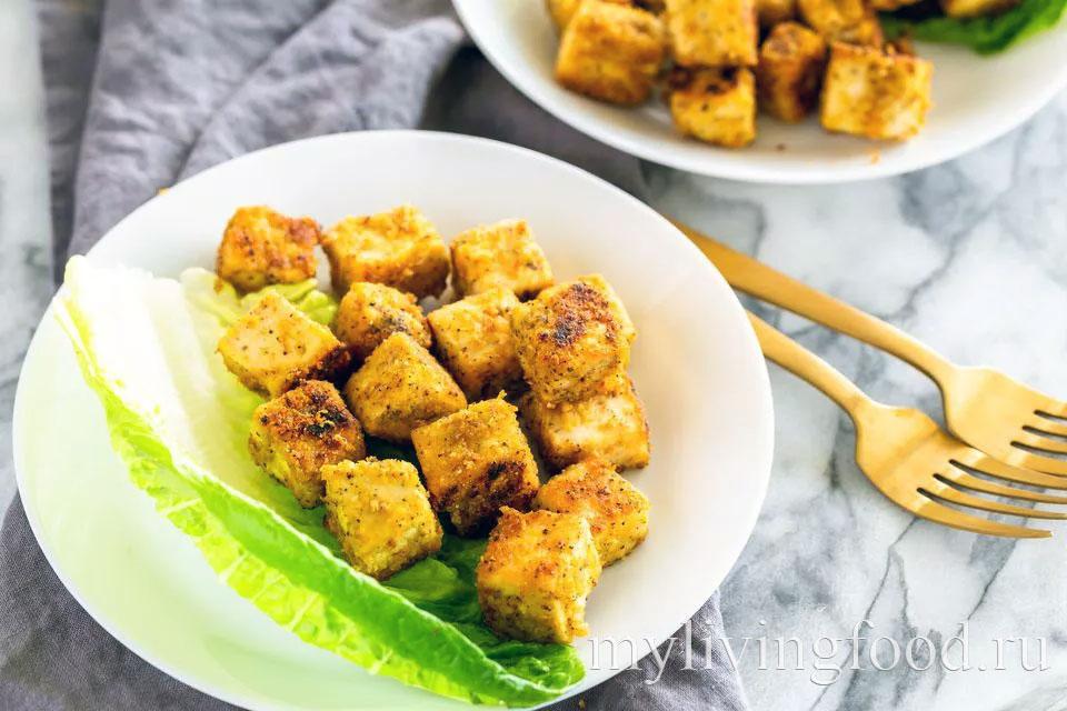 веганский тофу