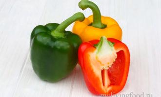 Как заморозить болгарский перец