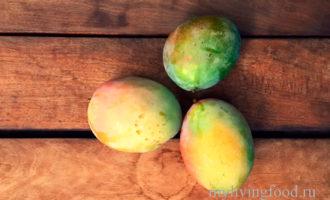 Как очистить манго