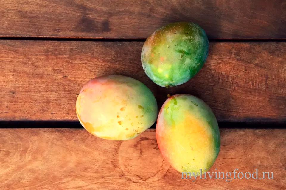 Как чистить и есть манго