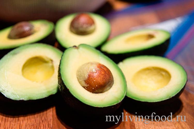Как можно заморозить авокадо