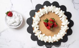 Вегетарианский чизкейк тофу - рецепт с фото