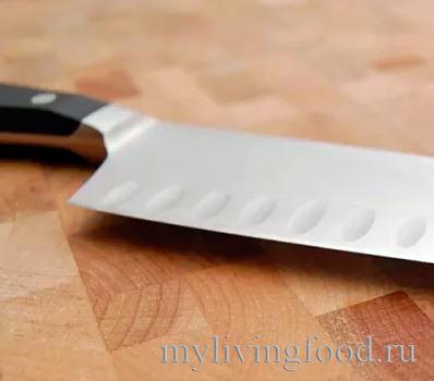 Поварской нож - лезвие