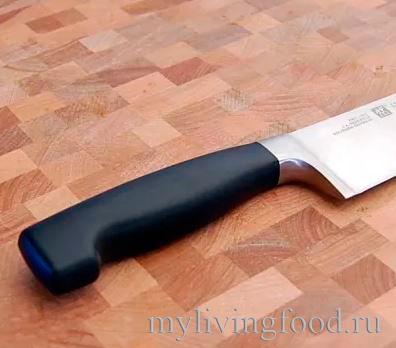 Поварской нож - ручка