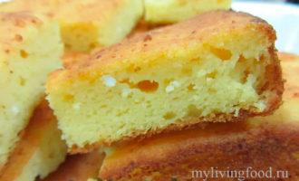 Кукурузный хлеб с пахтой