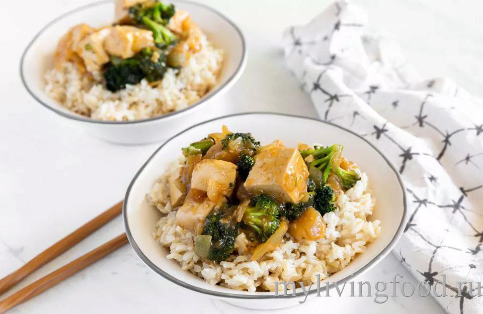 Веганские тофу