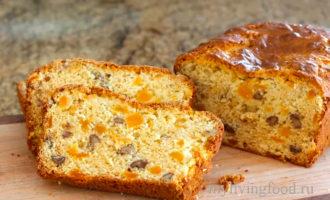 Ореховый хлеб с абрикосами
