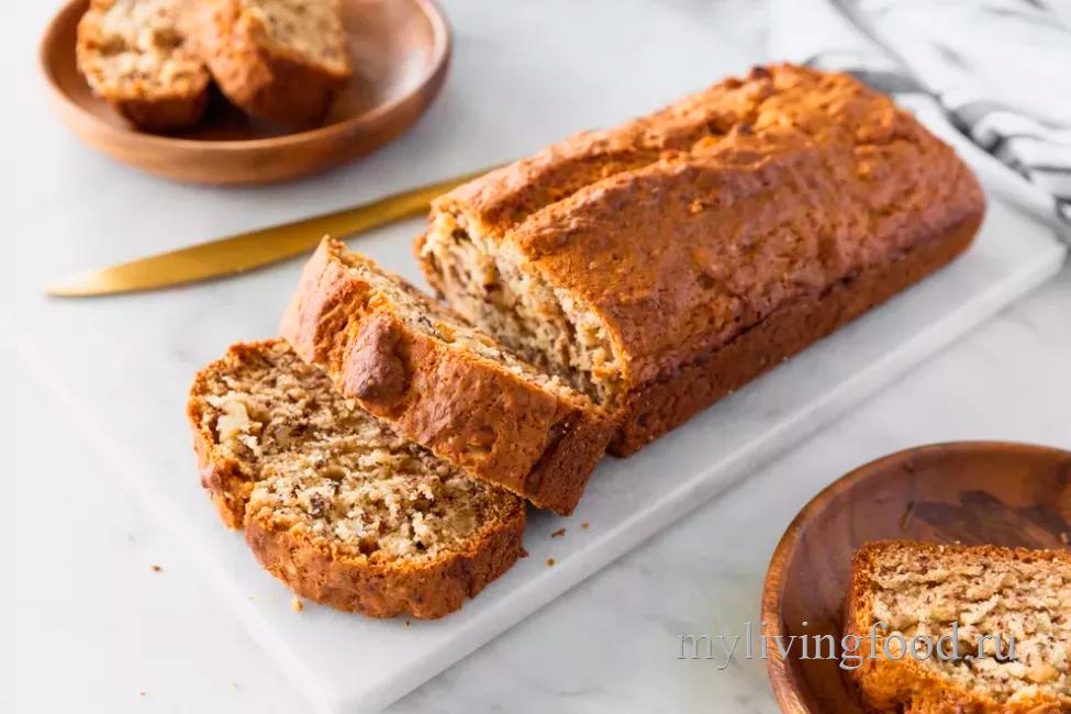 Легкий банановый хлеб