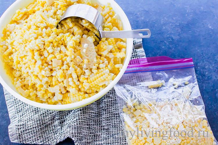 Бланшированная кукуруза