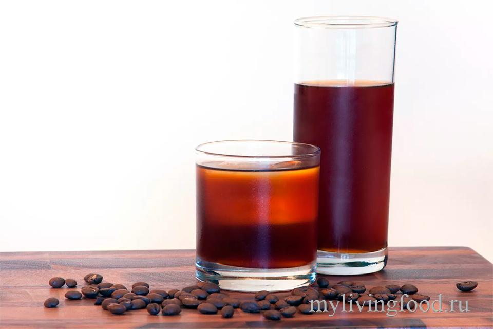 Холодное кофе