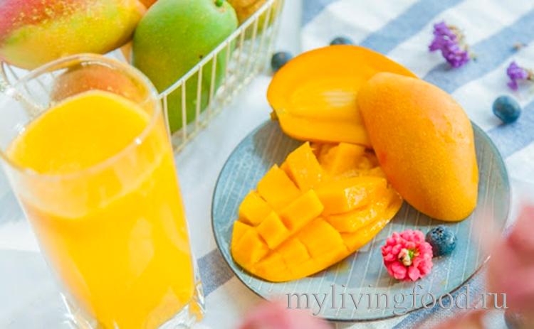 На что похож вкус манго