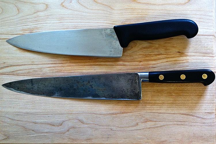 Кованый нож или штампованный?