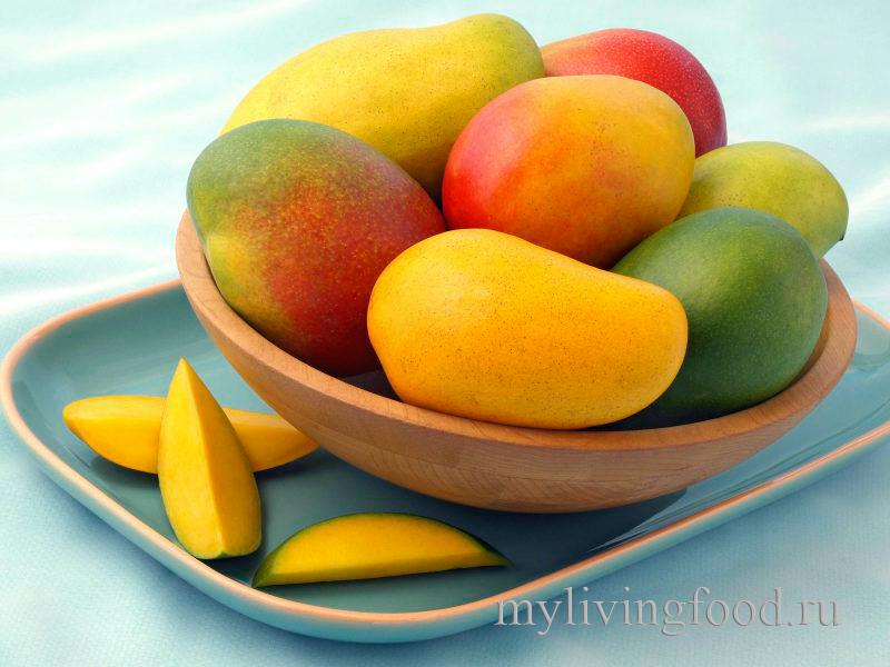 Как почистить манго