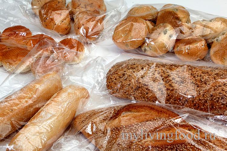 Как заморозить хлеб