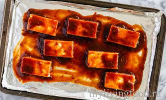 Запеченное тофу
