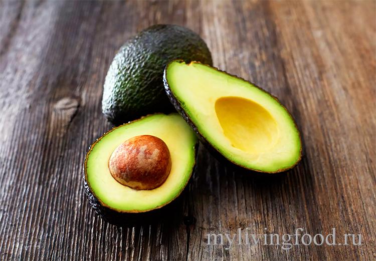 Заморозить авокадо