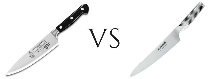 кованный нож против штампованного