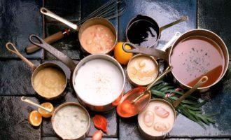 приготовление соуса основного