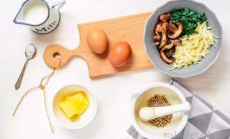 как приготовить пышный омлет