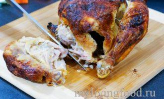 Как разделать курицу на части