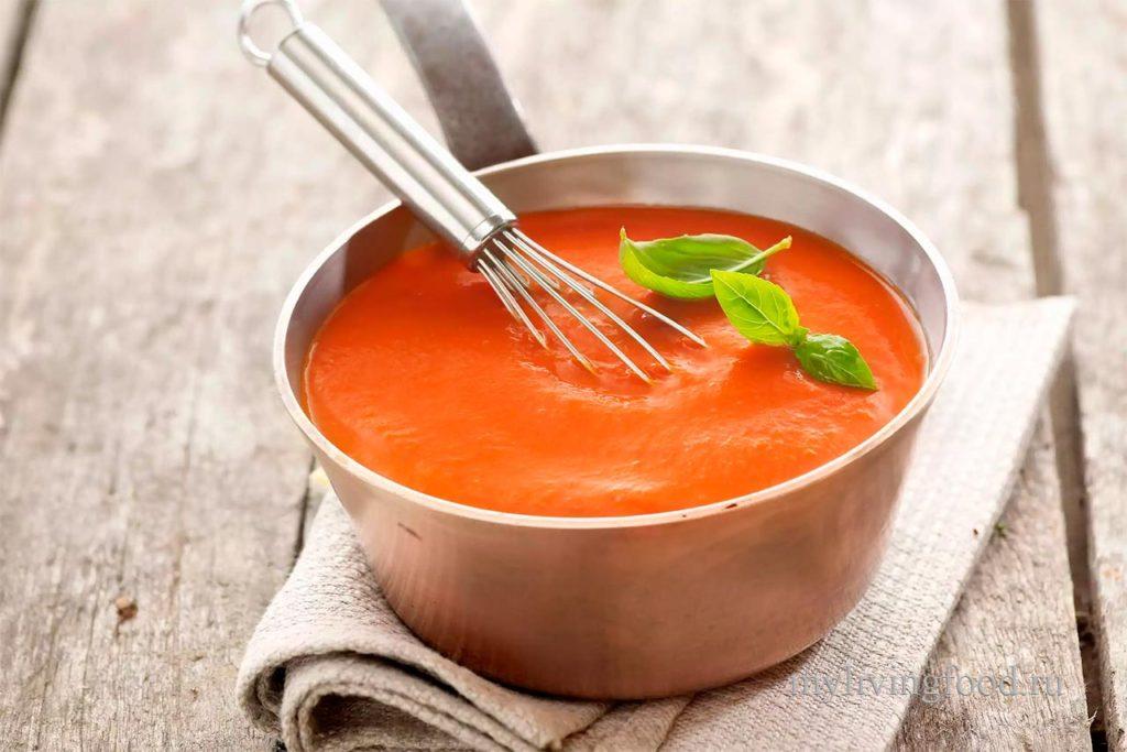 Красный соус / tomato sauce