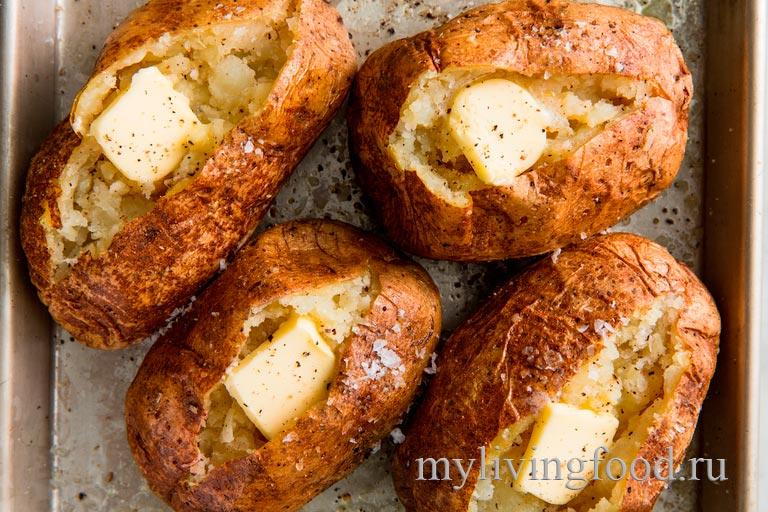Как испечь картофель