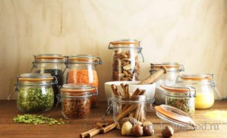 Запас продуктов питания