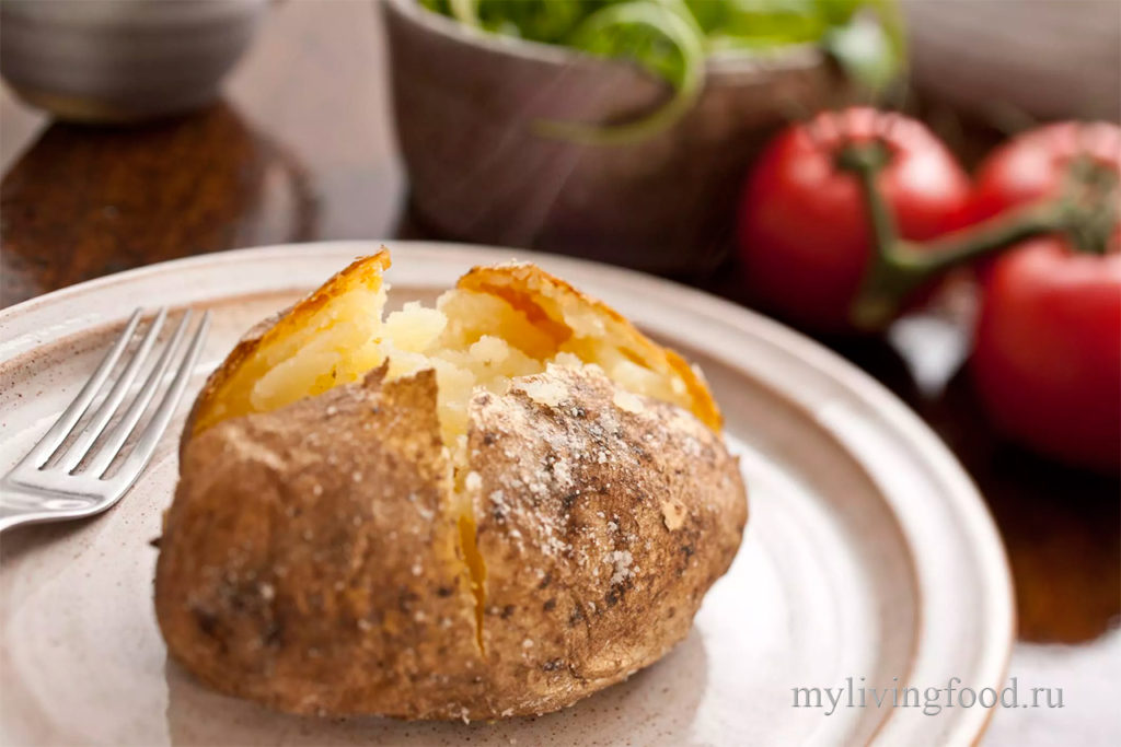 Как испечь картошку
