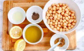 рецепт хумуса в домашних условиях