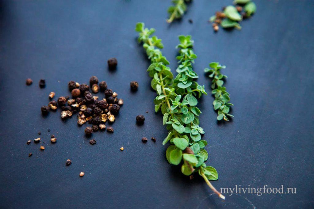 полезные для здоровья растения и специй
